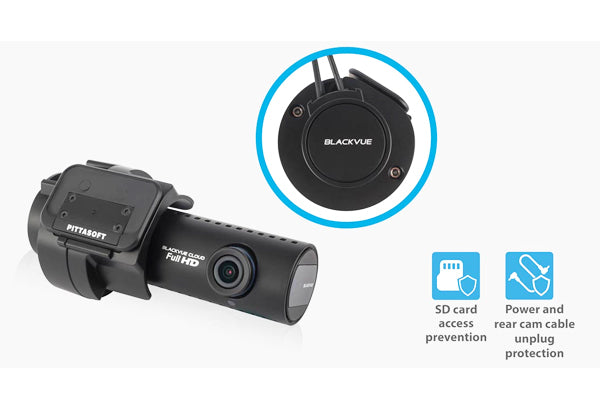 Blackvue DASHCAM 2 CHANNEL, DUAL 1080P CAMERAS, WIFI, GPS, up to 60FPS, 128GB CARD