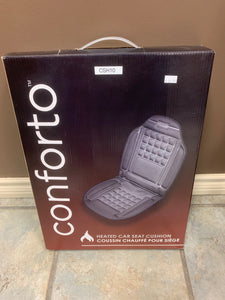Conforto Heated 12 Volt Car-Seat Cushion
