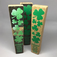 Load image into Gallery viewer, Shamrock Barrel Stave Tap Handle