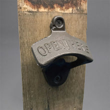 Load image into Gallery viewer, Barrel Stave Magnetic Wall Mounted Bottle Opener
