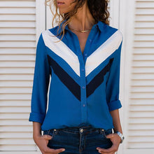 Load image into Gallery viewer, Blue 1 / S Hot Women Blouses Fashion