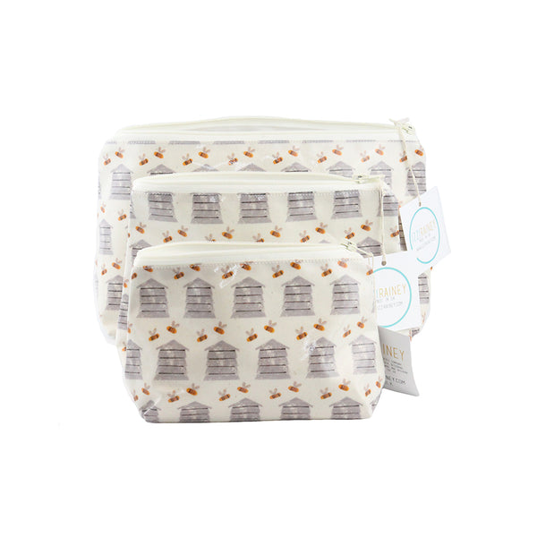 Izzi Rainey Beehive Oil Cloth Bags