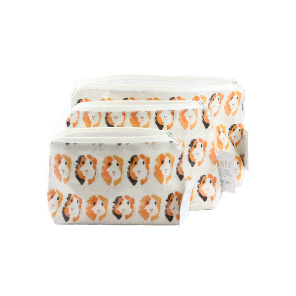 Guinea Pig Oil Cloth Bags 3 sizes