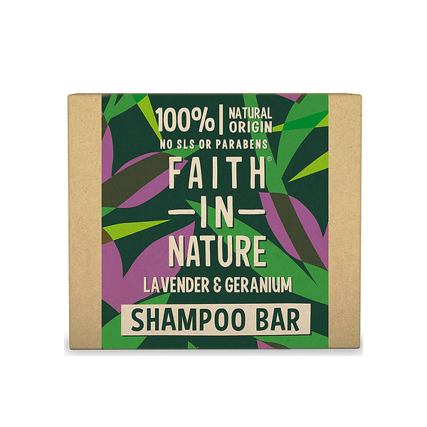 Lavender and Geranium Shampoo Bar 85g