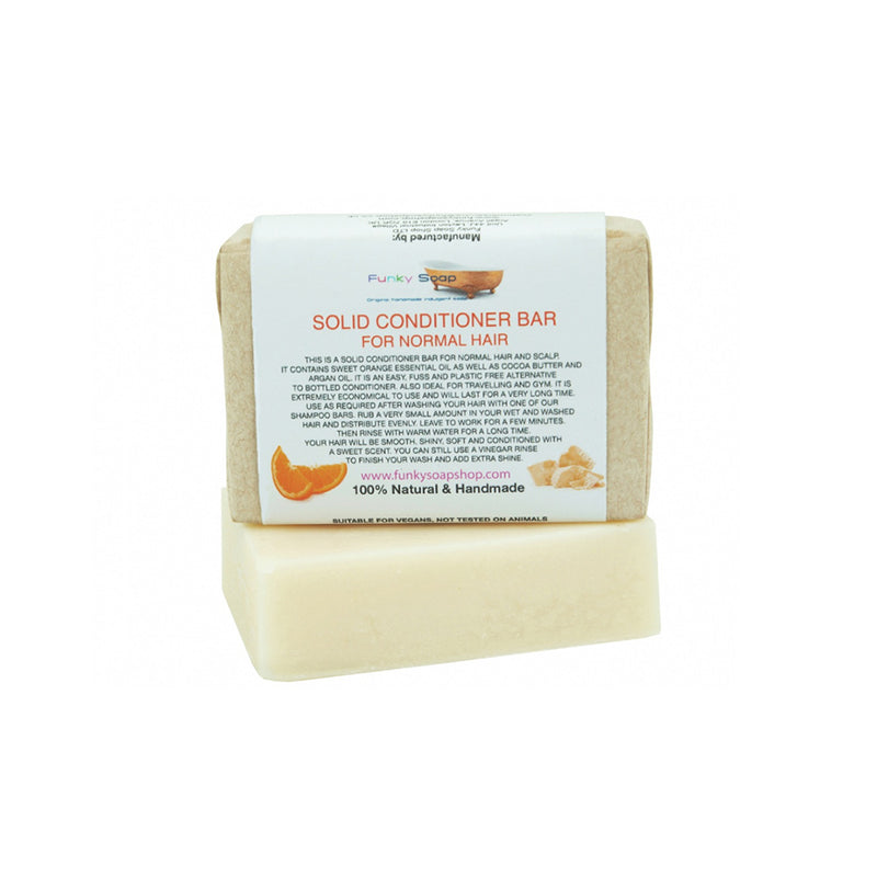 The Funky Soap Company Normal Hair Conditioner Bar