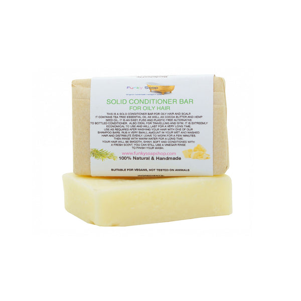 Oily Hair Conditioner Bar 95g