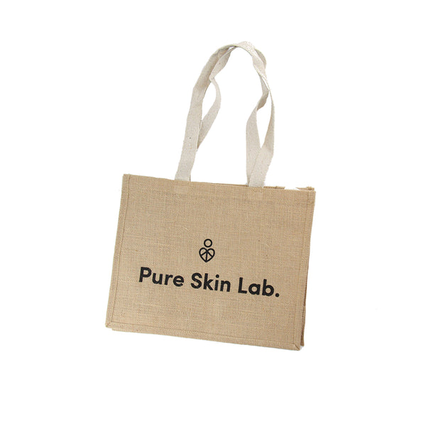 Jute Bag For Life by Pure Skin Lab