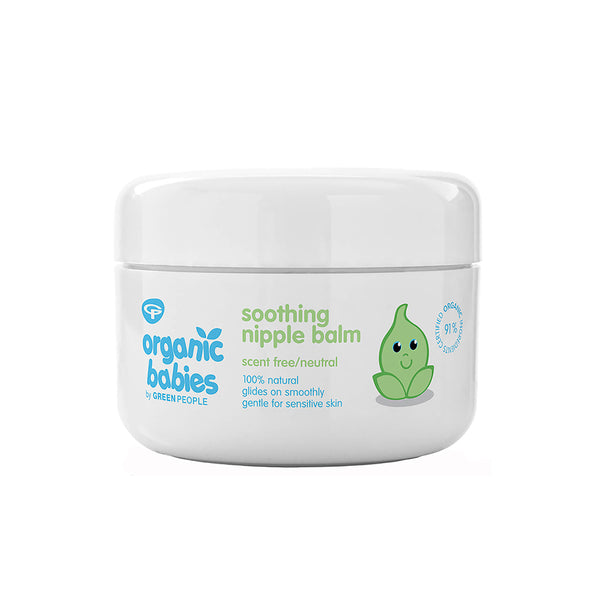 Organic babies by Green People Soothing Nipple Balm 50ml