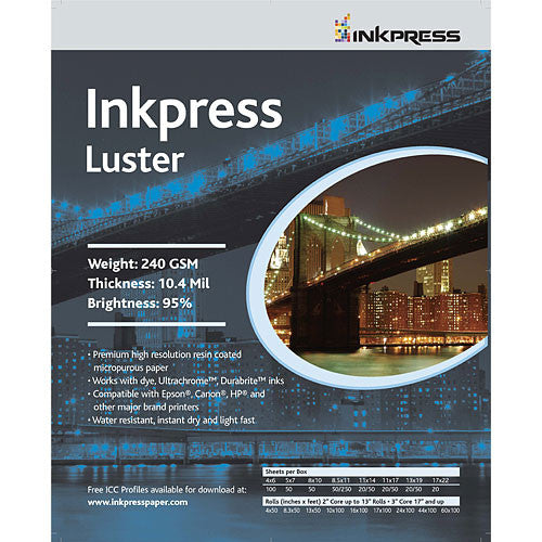 InkPress Luster Roll - InkJet Supply Pro
