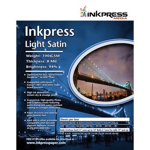 InkPress Light Satin Roll - InkJet Supply Pro
