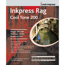 InkPress Rag Cool Tone 200 GSM Double-Sided Sheets - InkJet Supply Pro