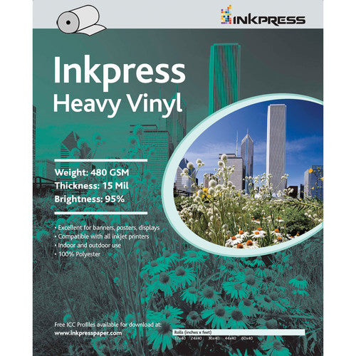 InkPress Heavy Vinyl Sheets - InkJet Supply Pro