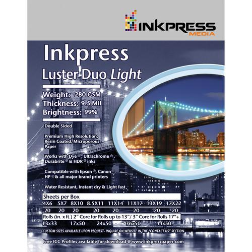 InkPress Luster Duo 280 Double Sided - InkJet Supply Pro