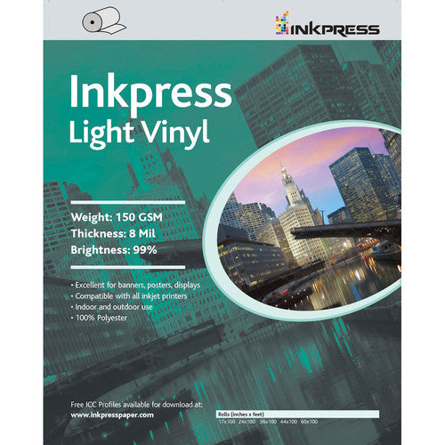 InkPress Light Vinyl Rolls - InkJet Supply Pro