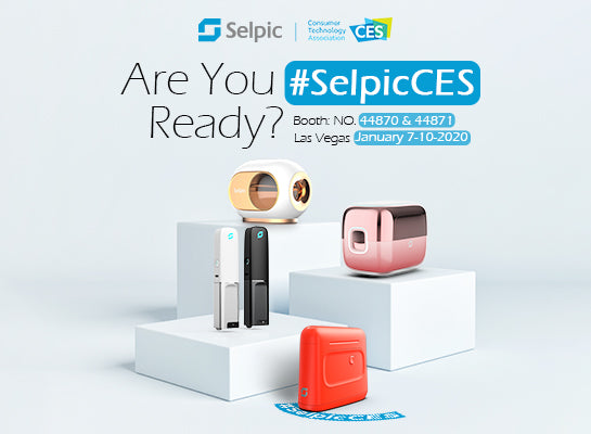 Selpic Printing Technologies makes a huge splash at the 2020 Consumer Electronics Show (CES)