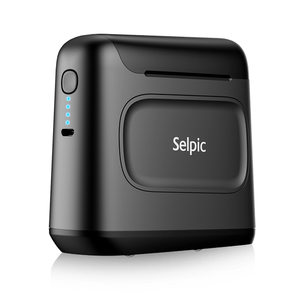 Selpic S1 Quick-drying Handheld Printer + Ink Cartridge Set - selpic