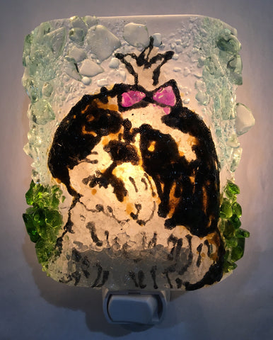 Bellavita Shihtzu Recycled Glass  Nightlight