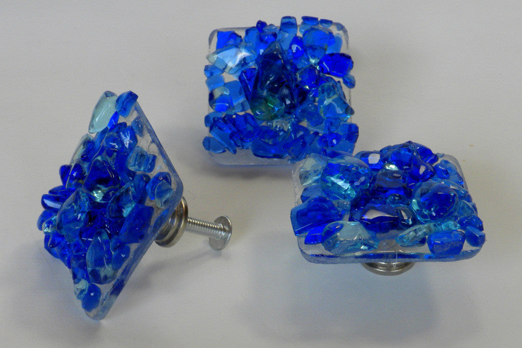 Tides--Reborn Glass Knobs & Drawer Pulls - RebornGlass.com