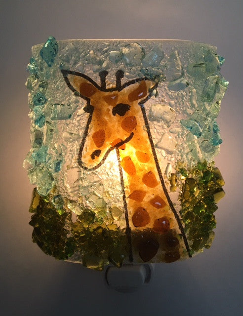 Giraffe Night Light - RebornGlass.com