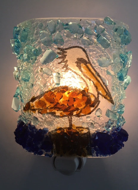 Pelican Reborn Glass Night Light - RebornGlass.com