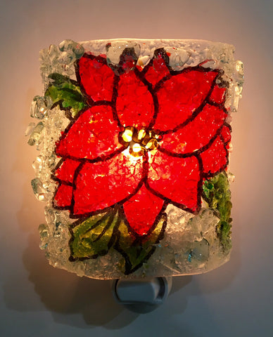 Poinsettia Night Light