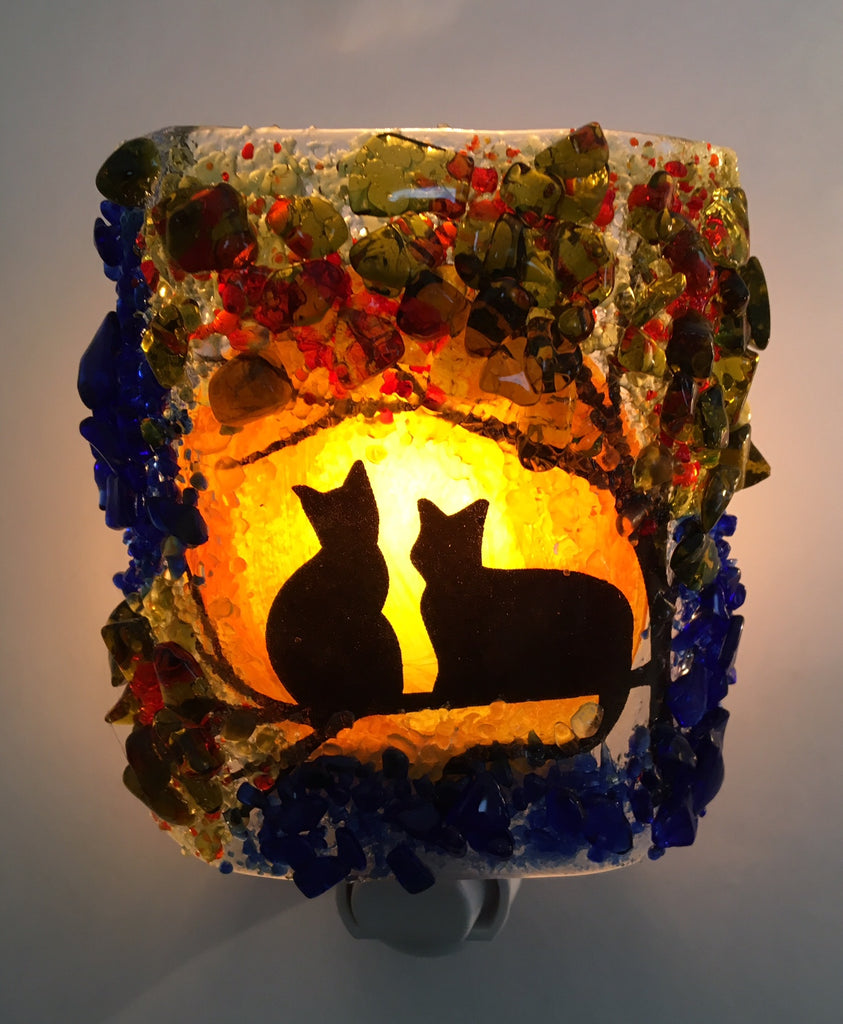 Harvest Moon Shadow Cats - RebornGlass.com