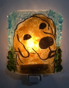 Good Dog Night Light - RebornGlass.com