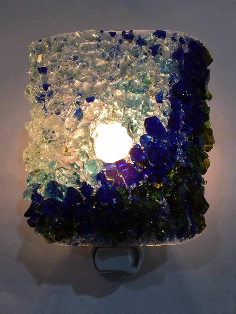 Surf's Up! Recycled Glass Night Light - RebornGlass.com