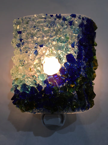 Surf's Up! Recycled Glass Night Light