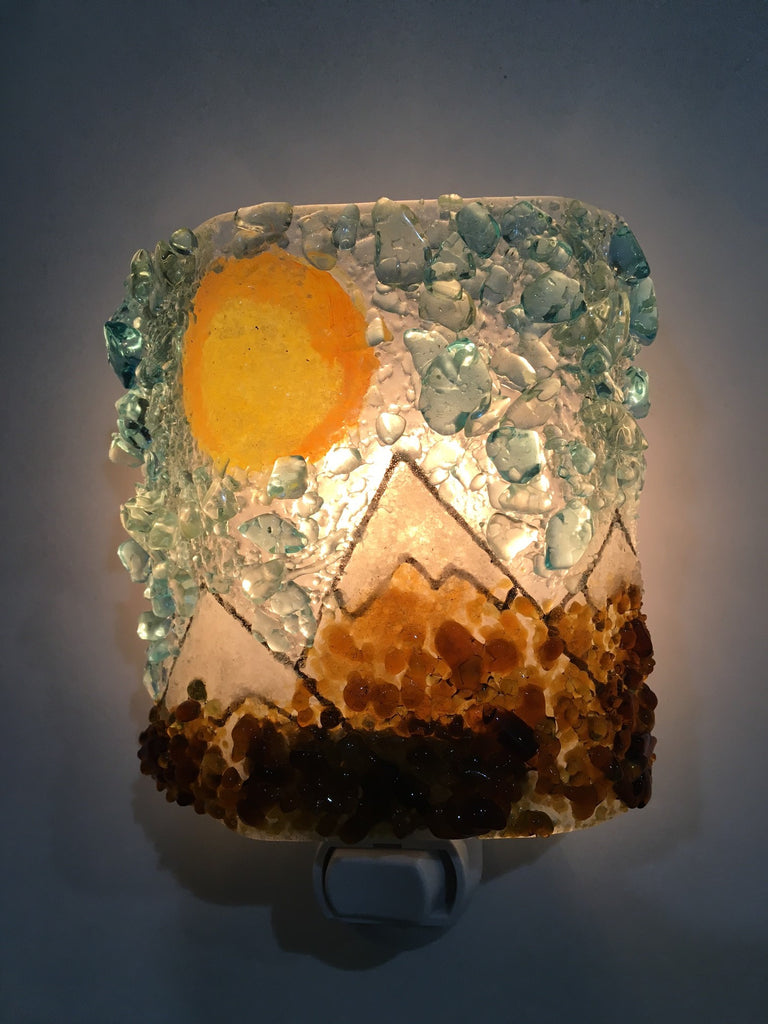 Mountain Custom Night Light - RebornGlass.com