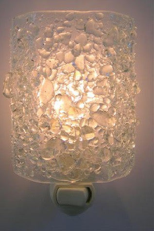 Southern Comfort Crystal Recycled Glass Night Light