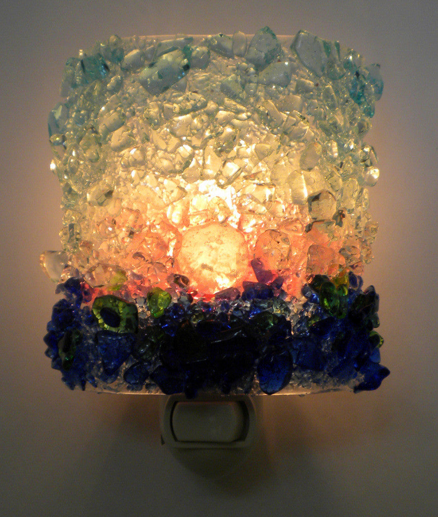 Sunset Night Light - RebornGlass.com