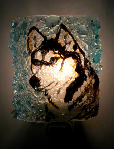 Siberian Husky Night Light