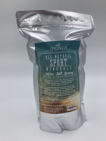 All Natural Sport Formula Mineral Soak