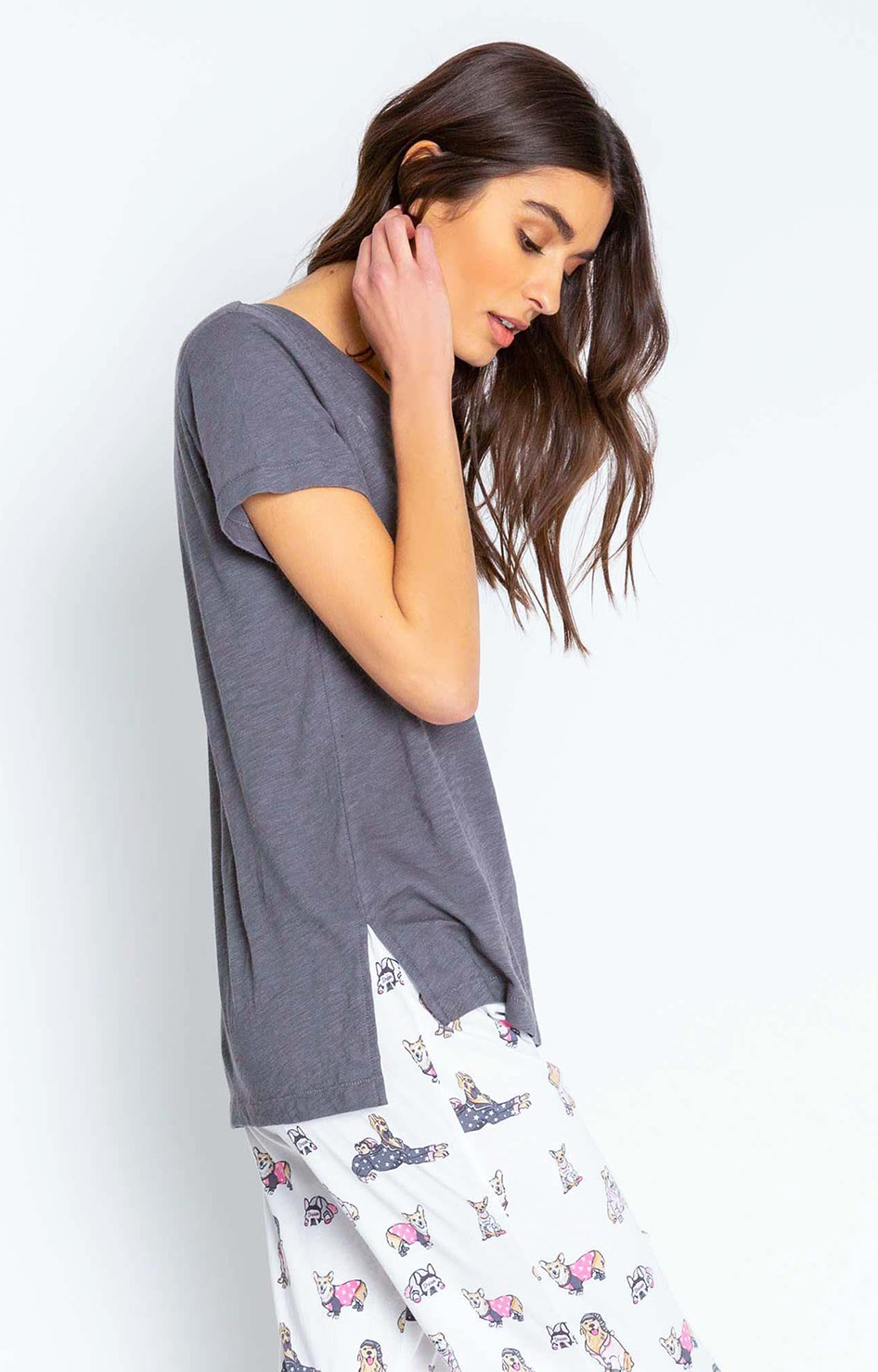 Star Embroidered Tee - P.J. Salvage
