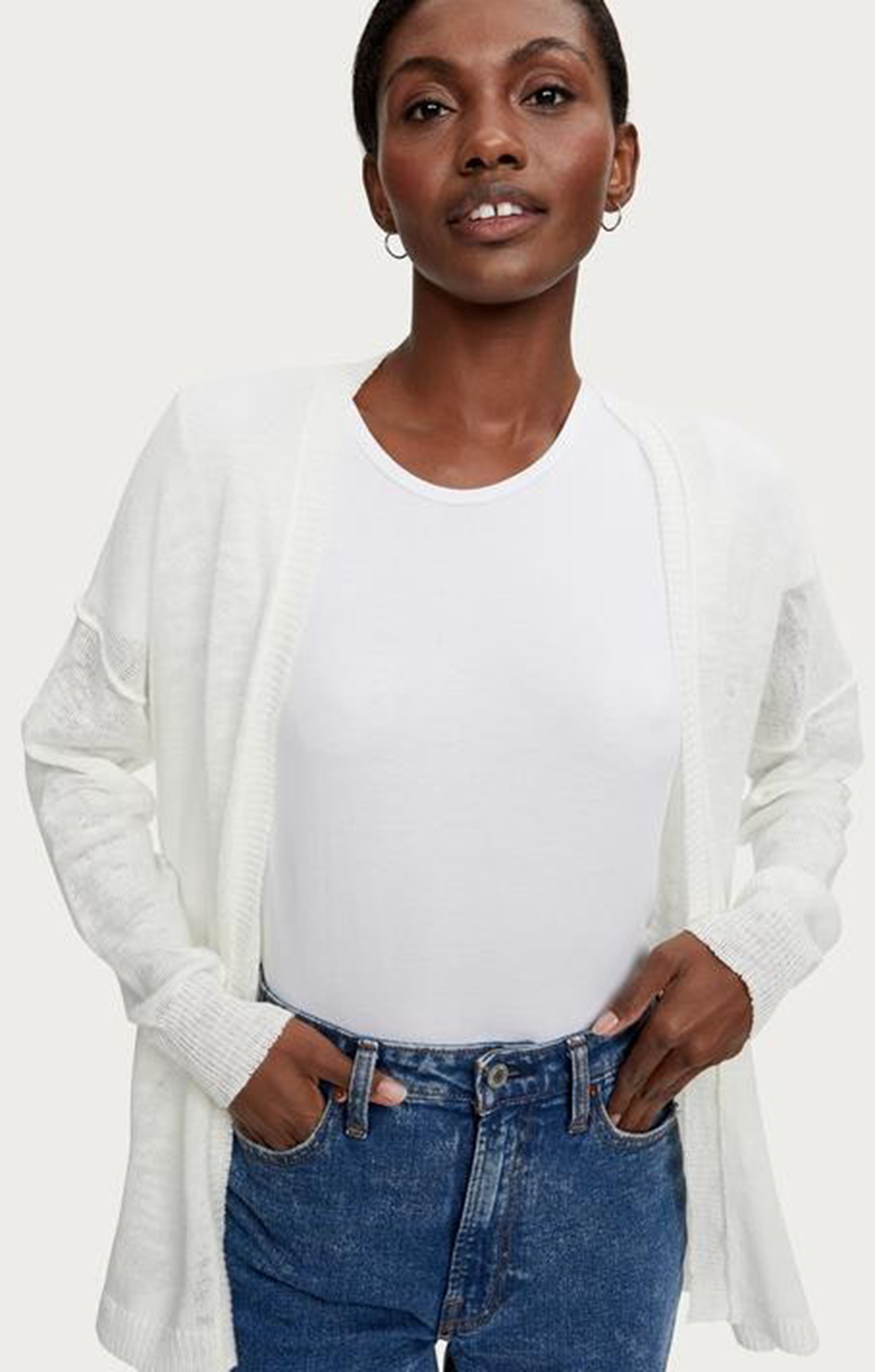 Noreen Open Cardigan