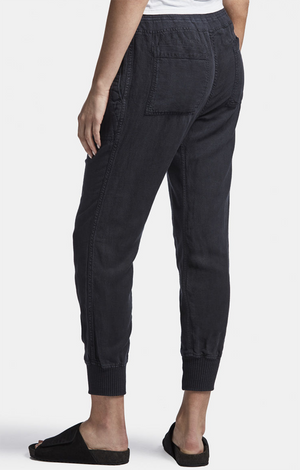 Relaxed Canvas Linen Pant
