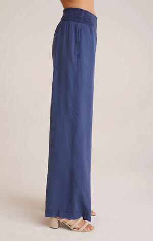 Bella Dahl - Smocked Wide Leg Pant