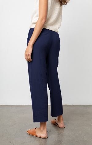 Agnes Pant In Navy