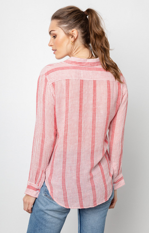 Charli Shirt Bristol Stripe - Rails Clothing