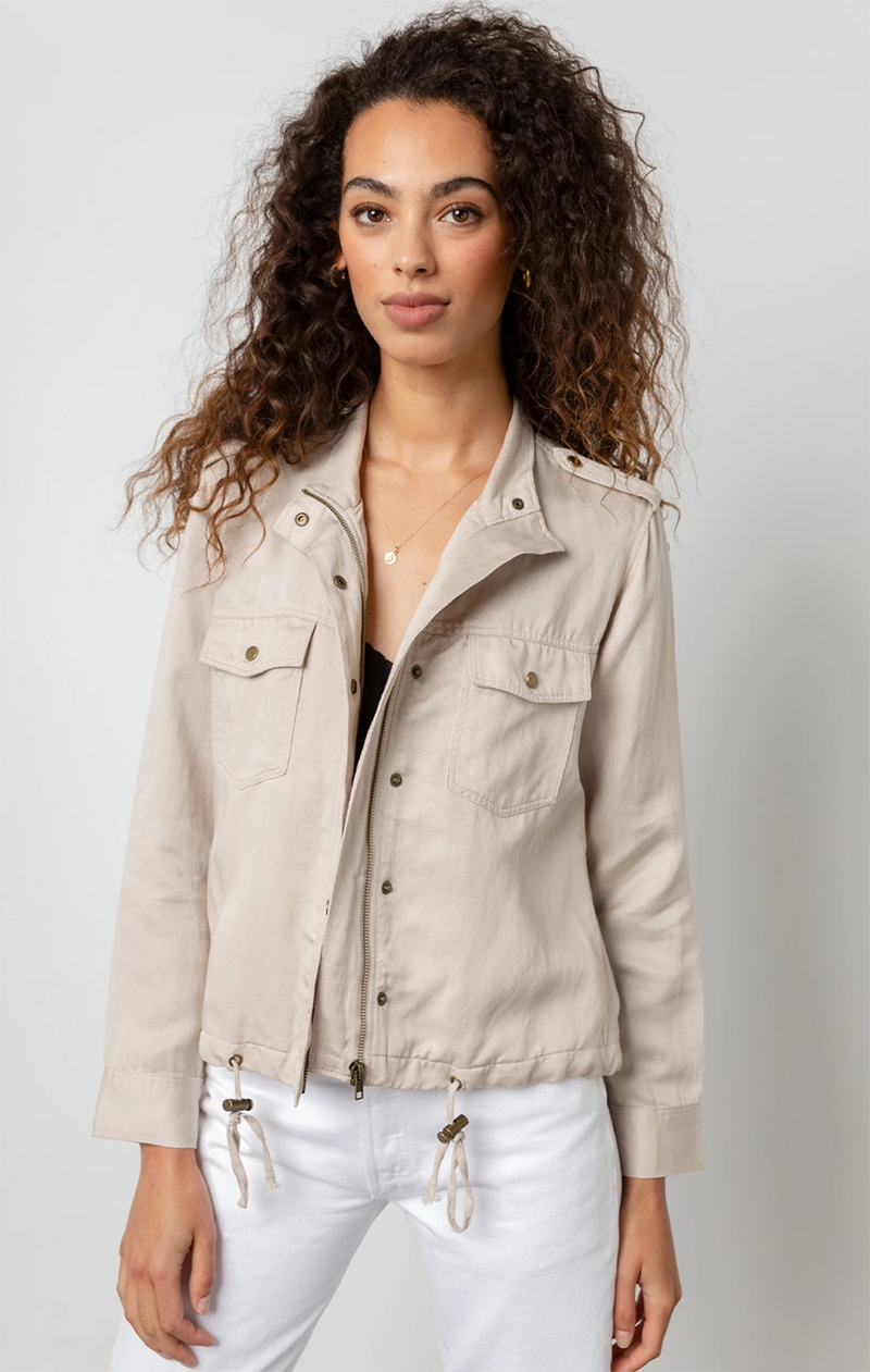 Collins Jacket In Bone