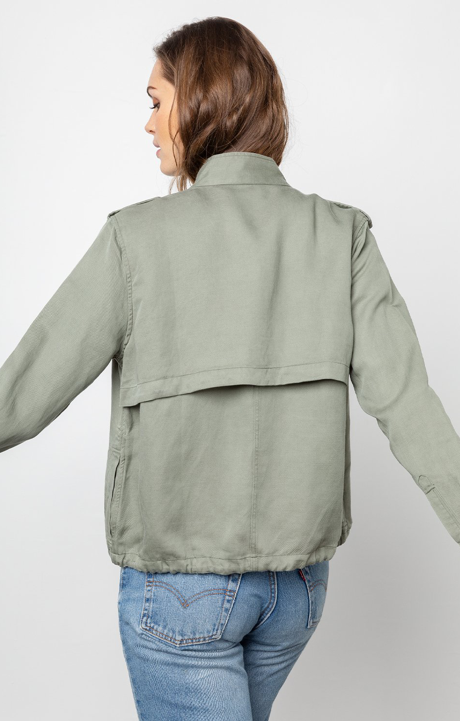 Collins Jacket In Sage - Rails