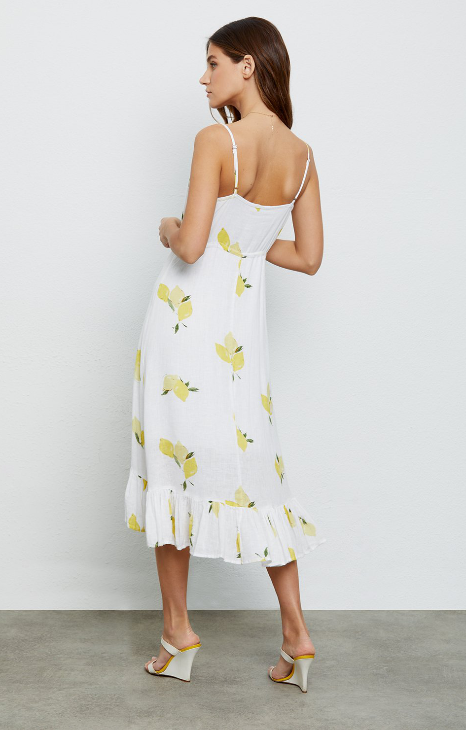 Frida Dress In Citronnade