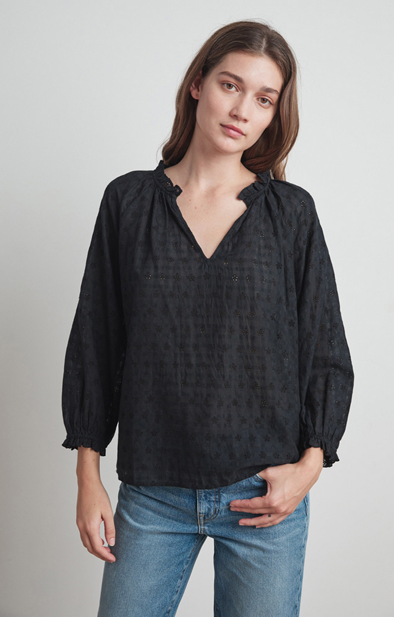 Matilda Top - Velvet By Graham & Spencer