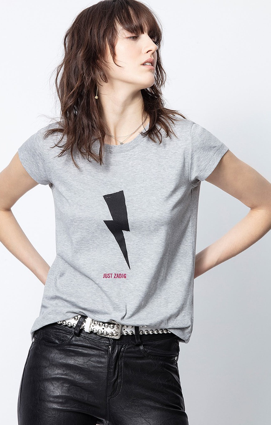 Zaidg & Voltaire Flashlight Just Zadig Skinny T-Shirt