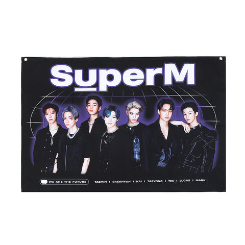 Super M Fabric Poster + Digital Album