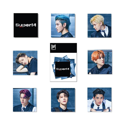 Super M Sticker Pack