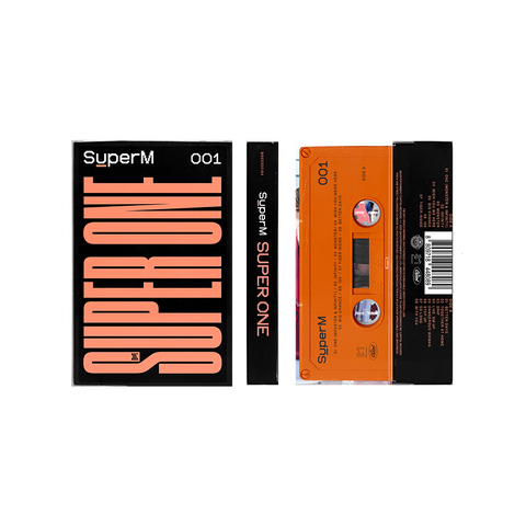 SuperM The 1st Album 'Super One' Limited Edition Cassette