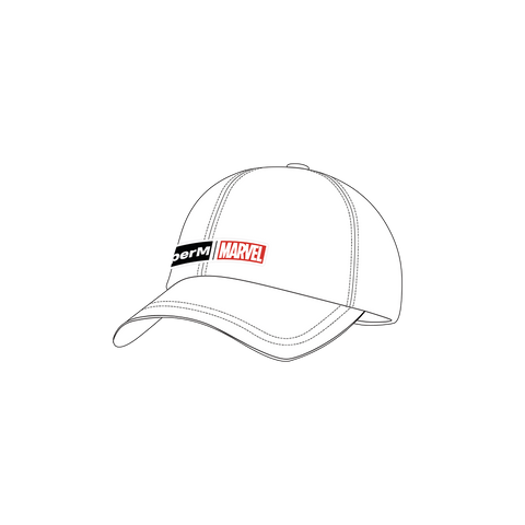 SuperM X MARVEL Logo Dad Hat + Digital Album
