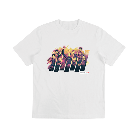 SuperM X MARVEL Color Graphic T-Shirt + Digital Album